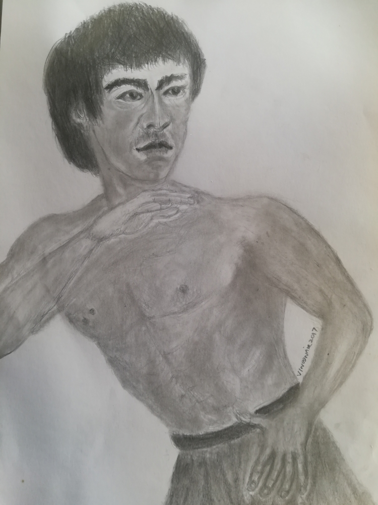 Bruce Lee by vinodnair